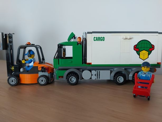 Lego City ciężarówka Cargo