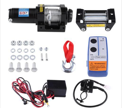 Wyciągarka samochodowa elektryczna-12 v