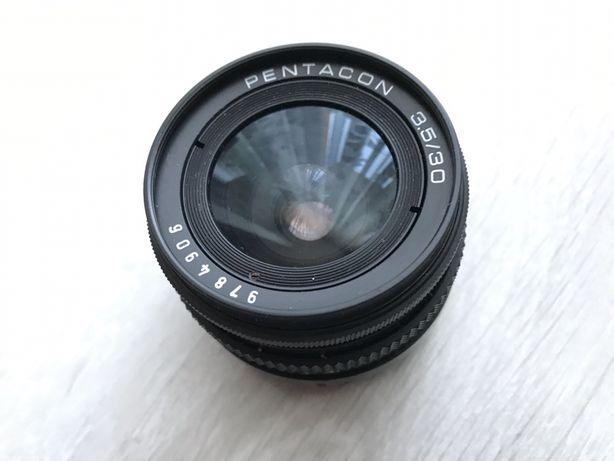 Obiektyw Pentacon 3.5/30.Stan idealny.