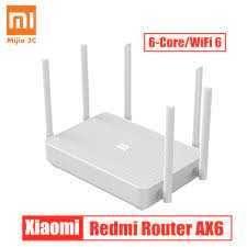 Роутер Xiaomi Mi WiFi  Redmi Router AX6 Wi-Fi 6 RA69\DVB4256CN 5900руб