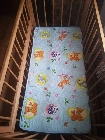 Кроватка детская Гойдалка на шарнирах