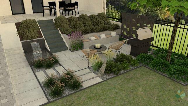 Projektowanie ogrodu 3d, wizualizacje