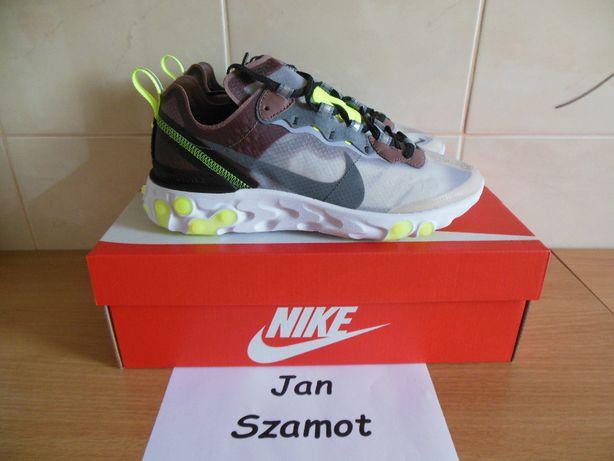 38,5 Nike React Element 87 Desert Sand