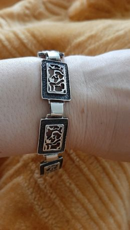 Bransoletka srebro 925
