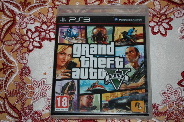 Gra GTA 5 na ps3