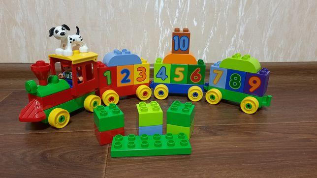 Конструктор Lego Duplo Поезд с цифрами