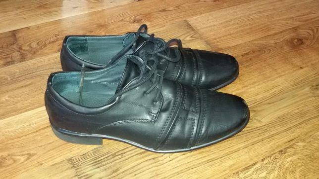 buty garniturowe chłopięce rozm 35