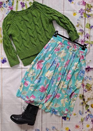 Spódnica wzór kwiatowy