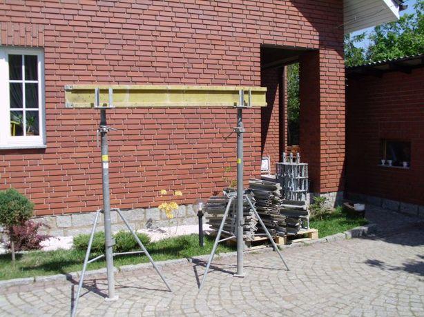 wypory podpory stemple budowlane do wynajecia do wydzierzawienia