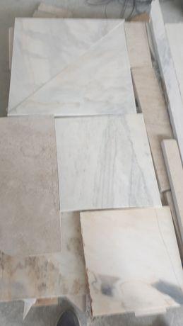 Desperdício de mármore e granito