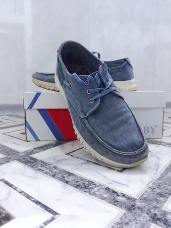 Джинсовые кроссовки,  макасины