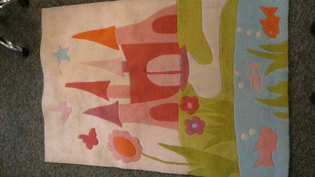 Dywan, gruby, ciepły, do pokoju dziecięcego