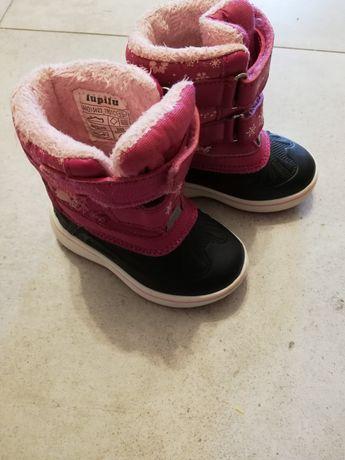 Buty 20 dla dziewczynki