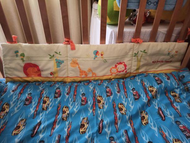 Бортик/защита Mothercare, Bambisso/органайзер Noukie's для кровати