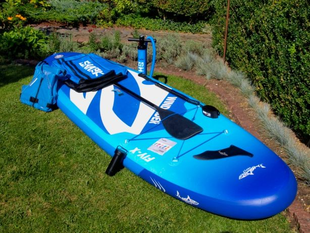 Deska SUP Shark Sups WindSUP 11' SWX-335 [gwarancja do 05.2022]