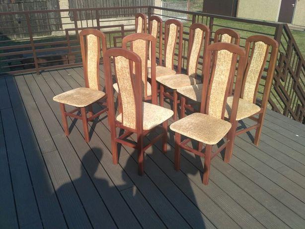 Krzesła drewniane 10 szt.