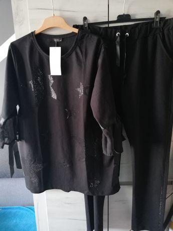 NOWY dres czarny bawełniany firmy WAWA.
