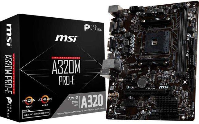 MSI A320M Pro-E - Placa Base (Chipset AMD A320)