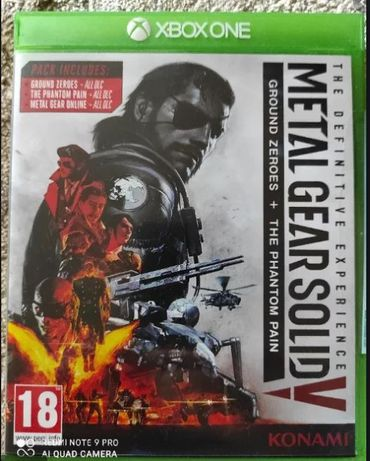 METAL GEAR SOLID V: The Definitive Experience +DLC - XBOX ONE - kod