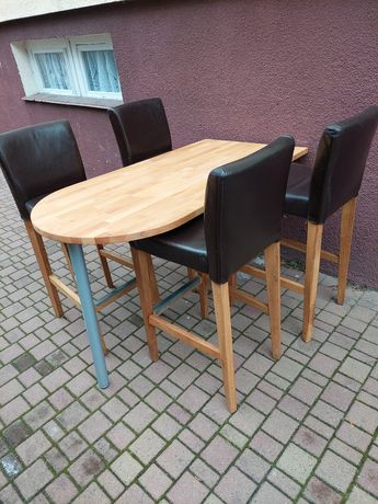 Stół, hokery stół do kuchni