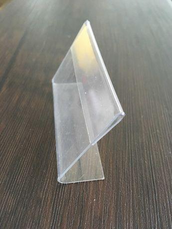L- образная подставка под ценник, ценнико держатель