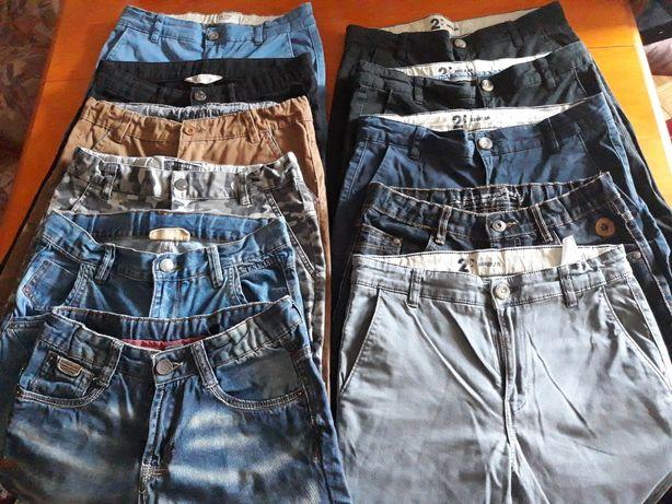 Spodnie chłopięce 152/158 11 sztuk