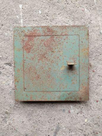 Drzwi Drzwiczki rewizyjne właz do komina wentylacji metalowe