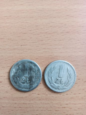 Sprzedam monety 1 zł z 1965 roku