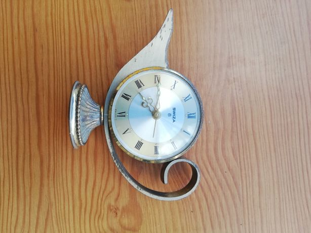 Vintage Swiza 8 Aladin alarme clock