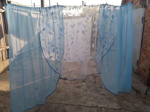 Продам тюль штора для кухни