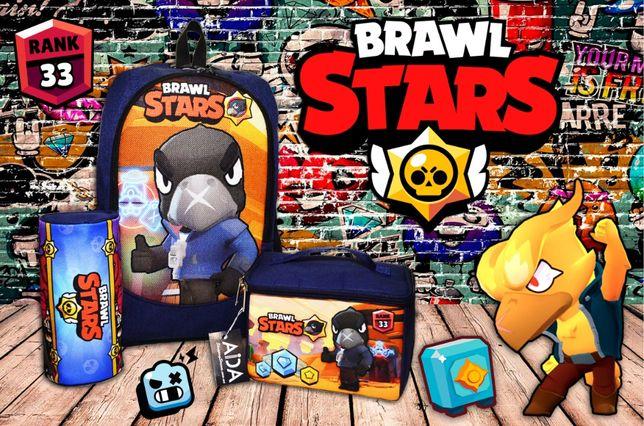 Школьный рюкзак принт Бравл Старс Brawl Stars рюкзак купить с принтом