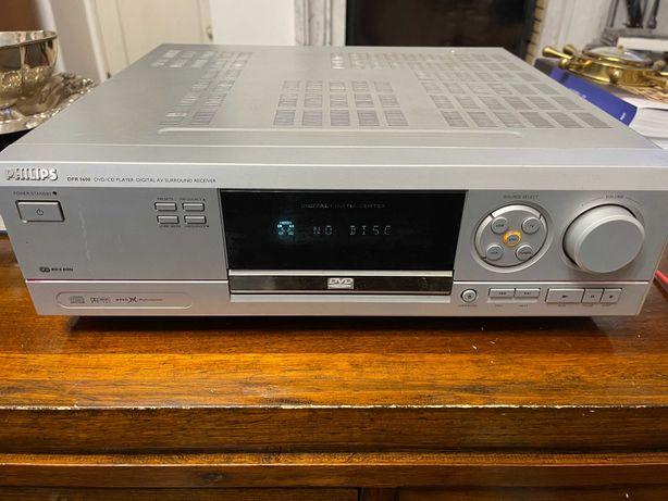 PHILIPS DFR 1600 DVD/CD Digital AV Surround Receiver Amplificador