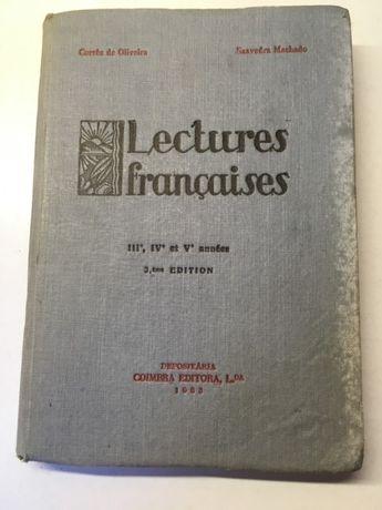 Livro - Lectures Françaises   III.e, IV.e et V.e année
