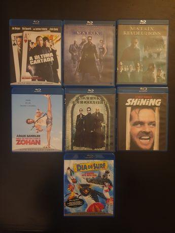 Vários Filmes Blueray