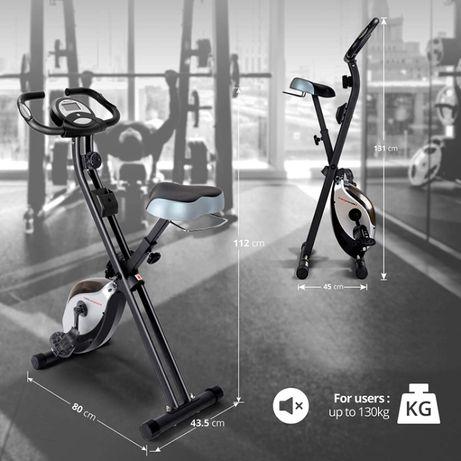 Rower treningowy Ultrasport F-Bike Heavy Advanced, Do 130 kg