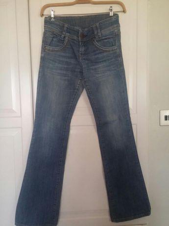 Spodnie jeansowe camaieu r.38