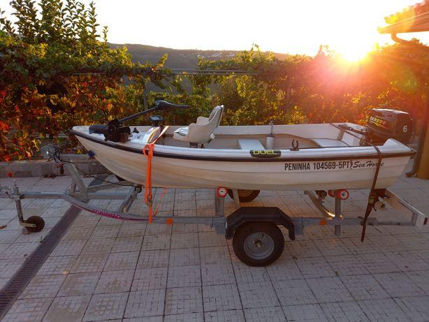 Vendo barco pesca ao achigã