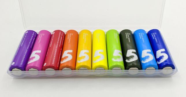 Батарейки Xiaomi ZMI Rainbow Zi5 AA LR06 10 шт. в упаковке