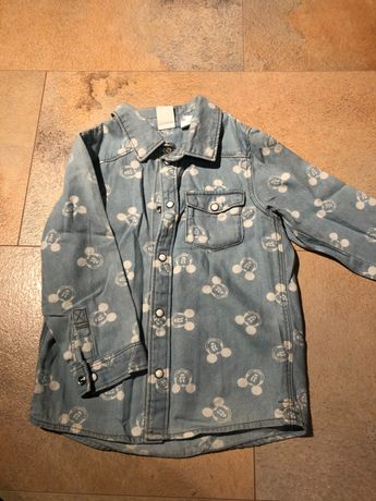 Рубашка джинсовая, сорочка, H&M