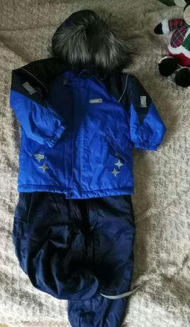 Reima tec, зимний костюм рейма 98+6, куртка, штаны комбинезон