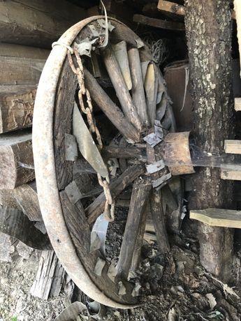 Колесо дерев'яне