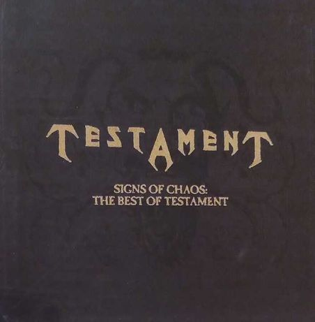 TESTAMENT - Signs of Chaos (CD) 8 Autografów