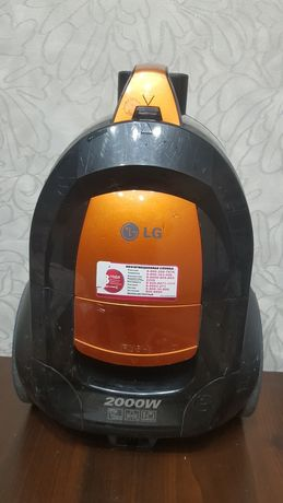 Пылесос LG VK-70603 NU с полным комплектом щеток