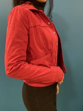 Женская замшевая курточка