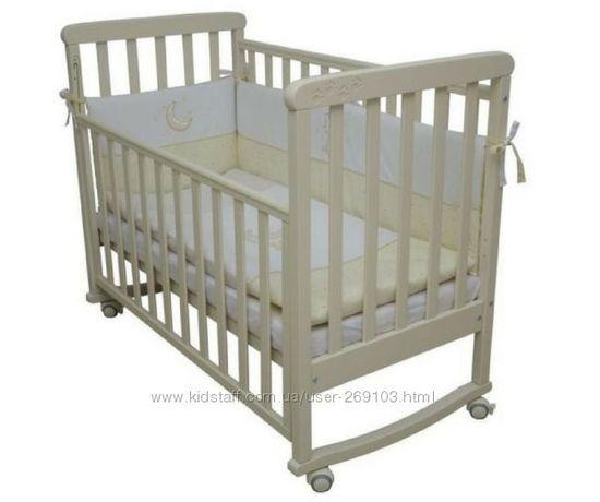 Кроватка детская+комод пеленатор
