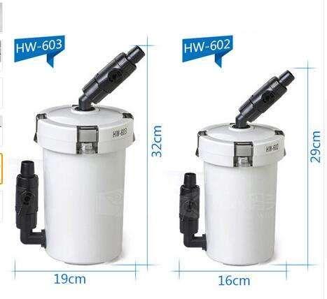 Внешний фильтр с помпой SunSun HW-603B, полный комплект