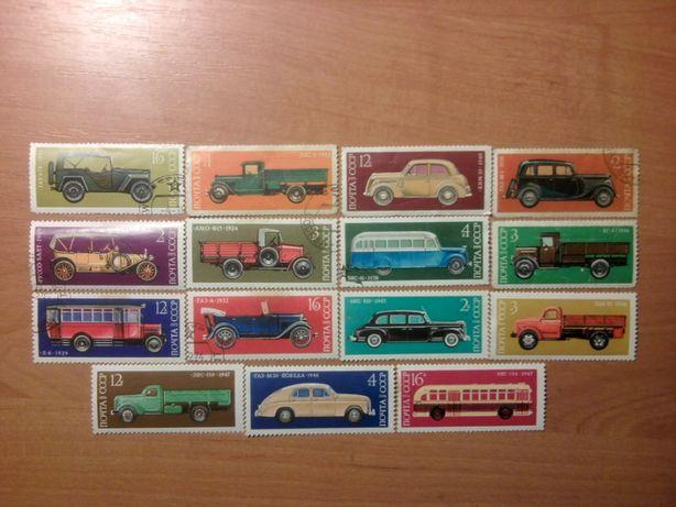 Почтовые марки разные