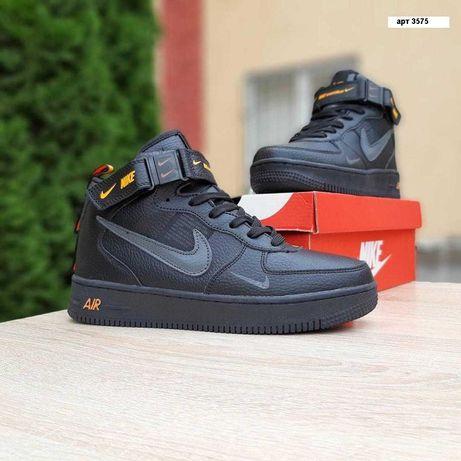3575 Nike Air Force 1 Mid LV8 кроссовки найк аир форс форсы зима мех