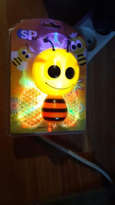 Lampka nocna dla dzieci pszczółka Jelenia Góra - image 1
