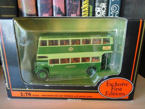 модель двухэтажного автобуса Daimler Utility Bus Greenline, EFE 1:76